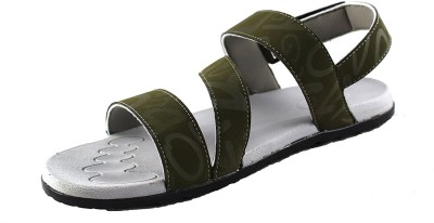 Mmojah Men Olive::Grey Sandals  available at flipkart for Rs.599