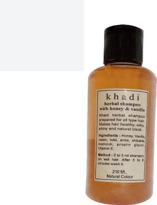 Khadi Herbal honey & vanilla shampoo 210ml(210 ml)