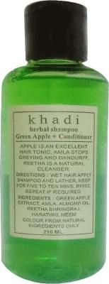 Khadi Herbal Green apple conditioner shampoo 210ml(210 ml)
