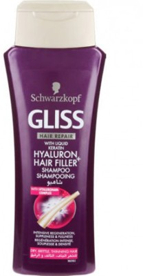 Schwarzkopf Gliss Hyaluron Hair Filler Shampoo For Unisex(400 ml)
