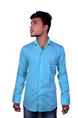 Layba Men's Solid Party Shirt