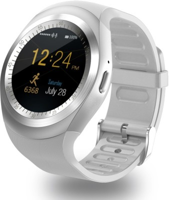 OWO Y1 phone Smartwatch(White Strap Free Size) at flipkart