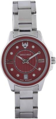 Swiss Eagle SE-9120-11 Analog Watch  - For Women at flipkart