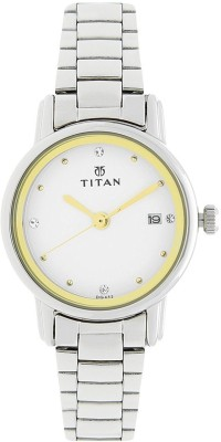 Titan 2572SM01 Karishma Analog Watch For Women