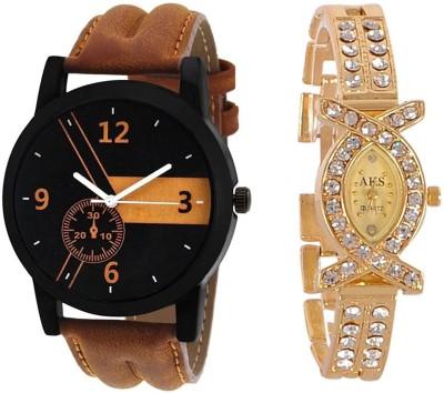 Maan International M-0909 Couple Anagoue Watch Watch  - For Men & Women   Watches  (Maan International)