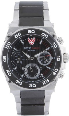 Swiss Eagle SE-9113-11  Analog Watch For Men