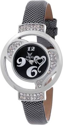 Fogg 13020-BK-CK Modish Analog Watch For Girls