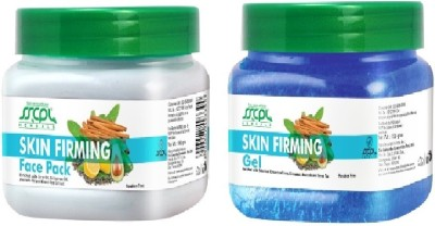 SSCPL Herbals Skin Firming Gel & Face Pack (450 gms each)(Set of 2)