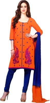 JBS SUCHI FASHION Cotton Embroidered Salwar Suit Material(Unstitched)