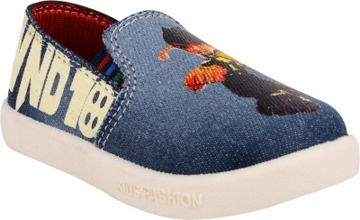 WINDY Boys & Girls Slip on Casual Boots(Blue)  available at flipkart for Rs.189