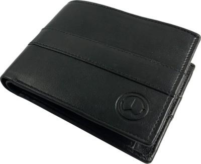 TnW Men Black Artificial Leather Wallet 4 Card Slots