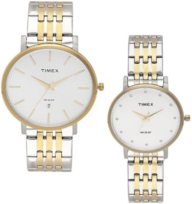 Timex TW00PR210  Analog Watch For Couple