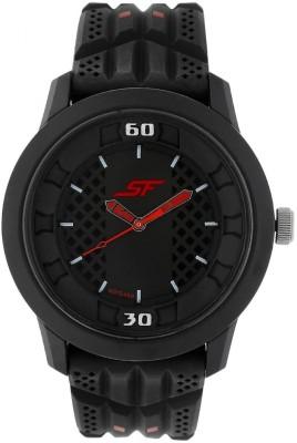 Sonata 77065PP01 Superfibre Spotas Analog Watch For Boys