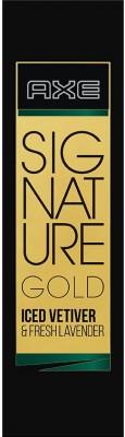 AXE Signature Gold Iced Vetiver & Fresh Lavender Perfume Body Spray  -  For Men(80 ml)