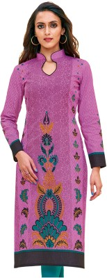 Giftsnfriends Cotton Printed Kurti Fabric(Un-stitched)