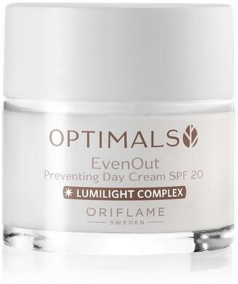 Oriflame Sweden Optimals Even Out Preventing Day Cream SPF 20(50 ml)  available at flipkart for Rs.499