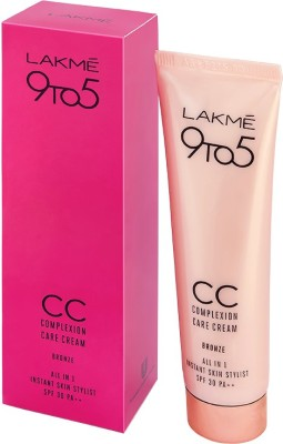 Lakme Complexion Care Face Cream - Bronze(30 g)  available at flipkart for Rs.272