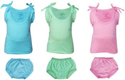 Jo Kids Wear Girls Casual Top Trouser(Multicolor)