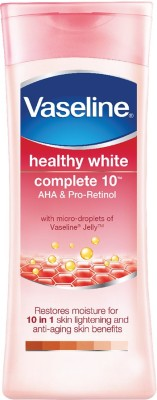 Vaseline Healthy White Complete 10 Body Lotion(300 ml)  available at flipkart for Rs.327