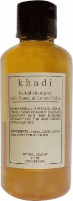Khadi Herbal honey & lemonjuice shampoo 210ml(210 ml)