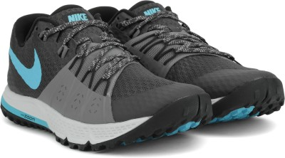 Nike AIR ZOOM WILDHORSE 4 Running Shoes For Men(Black, Blue, Grey, Multicolor)