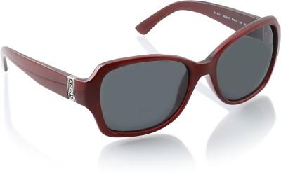 DKNY Over-sized Sunglasses(Black) at flipkart