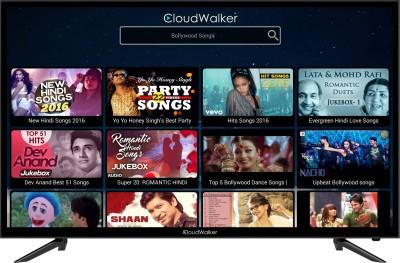 CloudWalker 100cm (39.37 inch) Full HD LED Smart TV(Cloud TV 39SF) (CloudWalker)  Buy Online