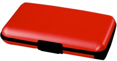 VibeX ™ Wallet Anti Lost Anti Theft Bluetooth IOS Andriod 5000mah Power Bank 2-USB Charge Port eCharge Wallet™-Type-017 USB Charger(Red)  available at flipkart for Rs.899