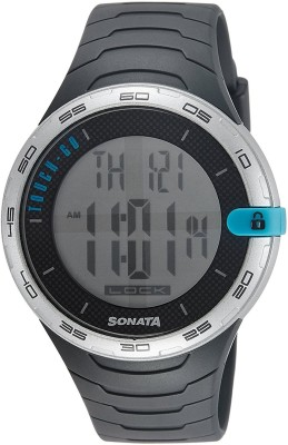 Sonata 77041PP01J Digital Watch (77041PP01J)