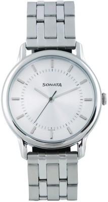 Sonata 7128SM01 Sleek Analog Watch For Men