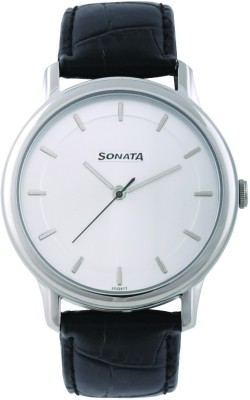 Sonata 7128SL01 Sleek Analog Watch For Men