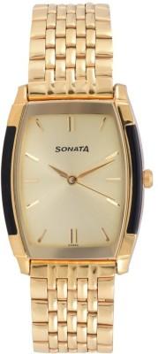 Sonata 7080YM02  Analog Watch For Men