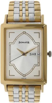 Sonata 77003BM01 Analog Watch