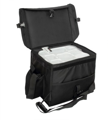 cb6eaa23481 17% OFF on TRIAGE Classic Insulated Meal Delivery Bag (Black) 24 L Backpack(Black)  on Flipkart   PaisaWapas.com