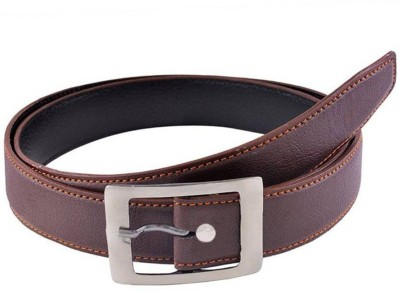 BESTO Men Casual Brown Synthetic belt  available at flipkart for Rs.85