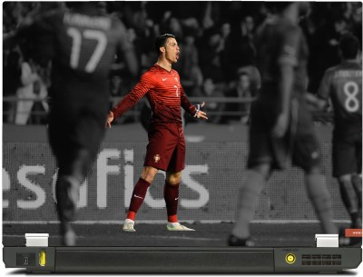 huge selection of b1f7a 55dec SkinShack Cristiano Ronaldo Celebration Portugal (12.1 inch) Vinyl Laptop  Decal 12.1
