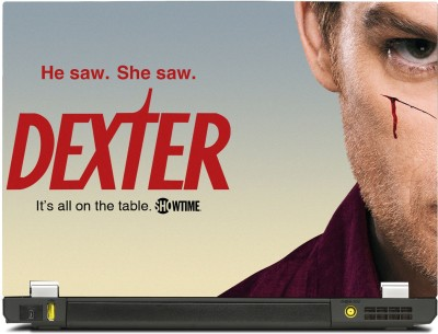 SkinShack Dexter - Its all on the Table Tv Series (10.1 inch) Vinyl Laptop Decal 10.1  available at flipkart for Rs.349