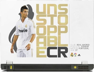 buy online 1e288 885a1 SkinShack Cristiano Ronaldo Art (10.1 inch) Vinyl Laptop Decal 10.1