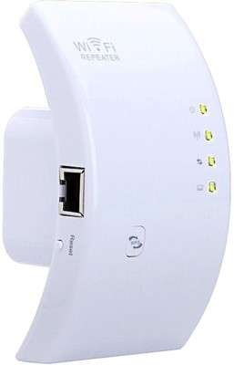 anweshas Wireless N Router Wifi Repeater Booster Signal Range Extender Amplifier 802.11N Indoor / Outdoor Router(White)  available at flipkart for Rs.999