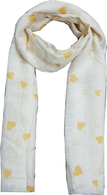 dream fashion Printed 100% Pure Linen Women's Scarf, Stole