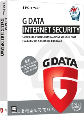G Data Internet Security 1 User 1 Year