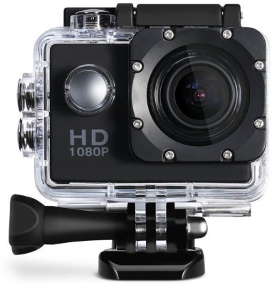 View Branded24x7 camera Action camera Sports and Action Camera(Black 14 MP) Price Online(Branded24x7)