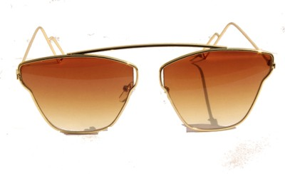 hanley Aviator Sunglasses(Brown)