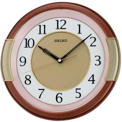 Seiko Analog Wall Clock(Random, With Glass)  available at flipkart for Rs.2750
