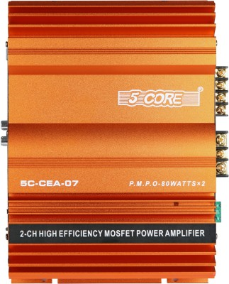 5 Core CEA 07 Two Class A Car Amplifier