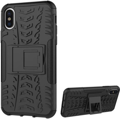 DMG Back Cover for Apple iPhone X(Black)