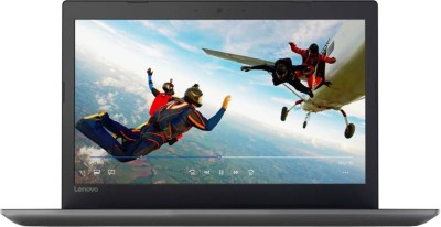 Lenovo Ideapad Core i3 6th Gen - (4 GB/1 TB HDD/DOS) IP 320E-15ISK Laptop(15.6 inch, Onyx Black, 2.2 kg)