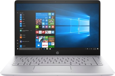 HP Pavilion Core i7 8th Gen - (8 GB/1 TB HDD/128 GB SSD/Windows 10 Home/4 GB Graphics) 14-bf148TX Laptop(14 inch, Mineral SIlver, 1.62 kg, With MS Office) 1