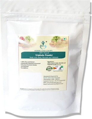 Herbs And Crops Triphala Powder(227 g)  available at flipkart for Rs.159
