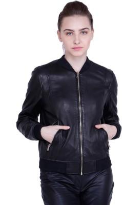 Justanned Full Sleeve Solid Women Jacket Justanned Women's Jackets